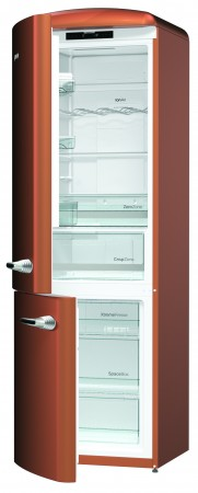 Gorenje Kühl/-Gefrier-Kombination Copper Türanschlag Links ONRK193CR-L