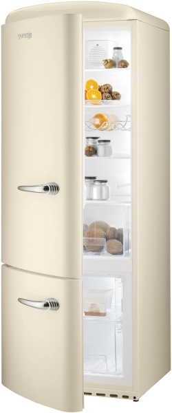 Gorenje Kühl-/Gefrier-Kombination Retro Collection creme RK 60319 OC-L EEK: A++